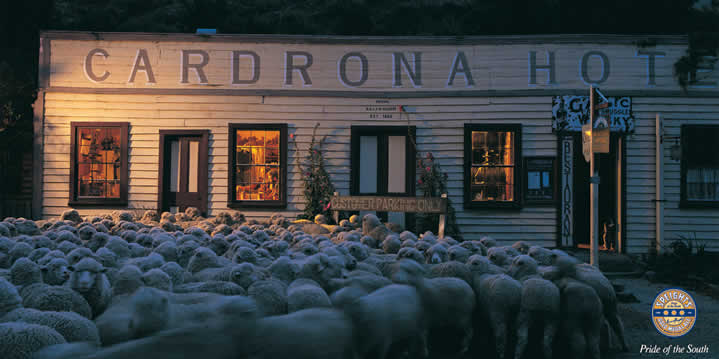 Cardrona Hotel - Speights Advertisement
